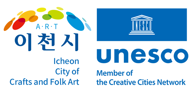 United Nations Educational, Scientific and Cultural Organization ART Icheon City of Crafits and Folk Art Member of the UNESCO Creative Cities Network since 2010